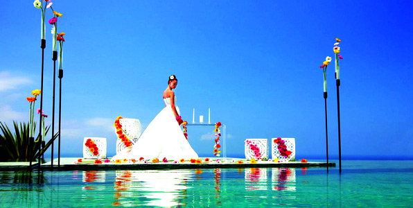 Tirtha Bridal Unveils Innovative Water Wedding